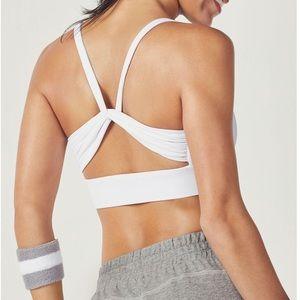 Fabletics Intimates & Sleepwear - Fabletics white kenzie athletic sports bra